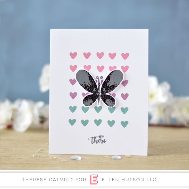 Lostinpaper - Catherine Pooler - Faithful Flutterings - Eat Sleep Create - Zen Collection (card) 1