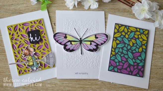 Lostinpaper - Penny Black - Leaf Pattern - Gimme 5 (card video) thumbnail 1