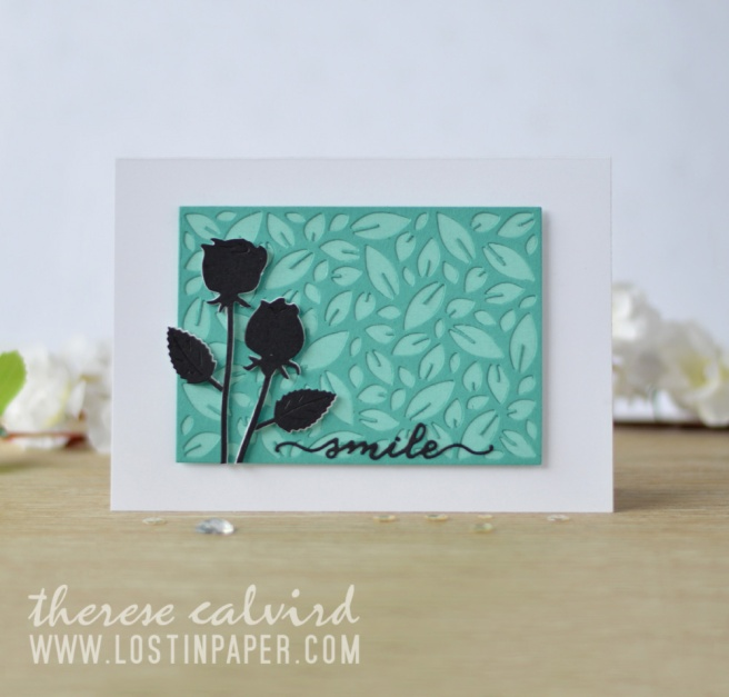 Lostinpaper - Penny Black - Leaf Pattern - Love & Roses - Gimme 5 (card video) 1