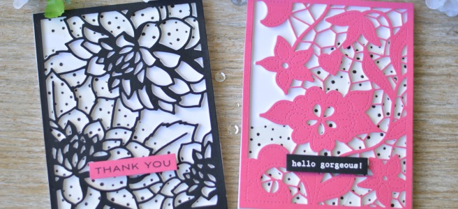 Altenew - Doodled Lace - Layered Floral - Dotted Washi Tape - Therese Calvird (card video) thumbnail