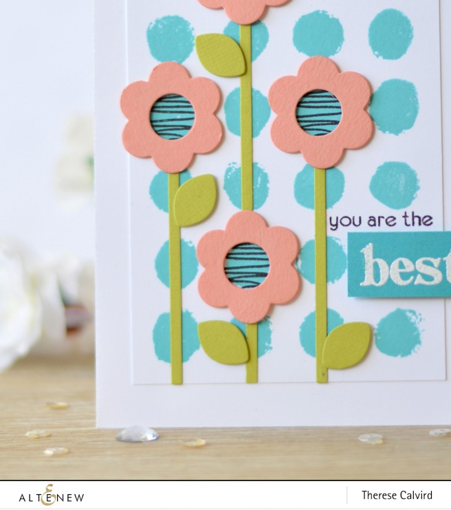 Altenew - Folksy Florals - Watercolor Dots - Therese Calvird (card) 1 copy