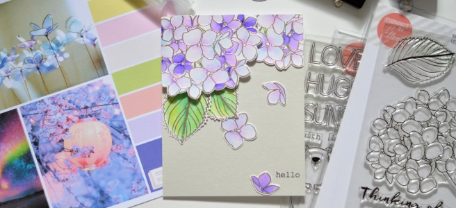 Ellen Hutson Color Trend Floral Fantasies May 2018 - Mondo Hydrangea - All Inside - Therese Calvird (card video) thumbnail - Copy - Copy