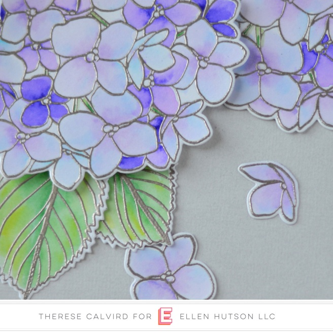 Ellen Hutson Color Trend Floral Fantasies May 2018 - Mondo Hydrangea - Therese Calvird (card video) 1 (1) copy