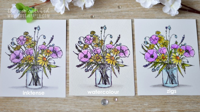 Lostinpaper - Penny Black - Vase Garden (card video) 2 copy