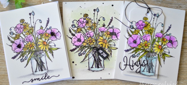 Lostinpaper - Penny Black - Vase Garden (card video) 2 copy