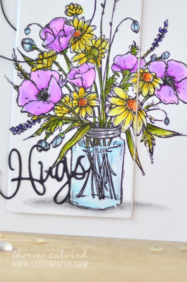 Lostinpaper - Penny Black - Vase Garden - Zigs (card video) 2
