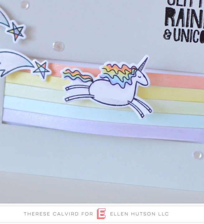 Lostinpaper - Essentials By Ellen - Unicorns 'n Rainbows (card video) 1 copy