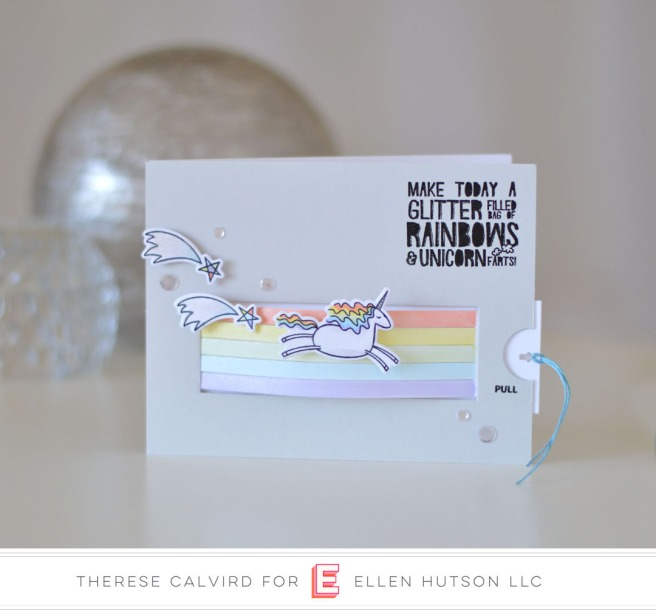 Lostinpaper - Essentials By Ellen - Unicorns 'n Rainbows (card video) 1 copy