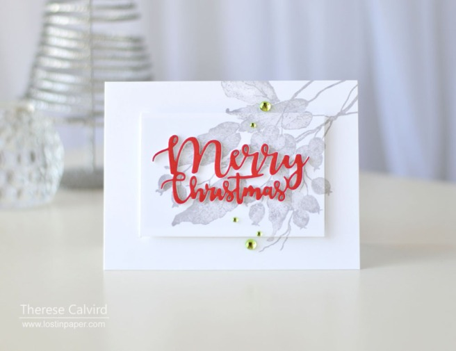 Lostinpaper - Penny Black - Berry Kissed - Ornamental Branch (card video) 1