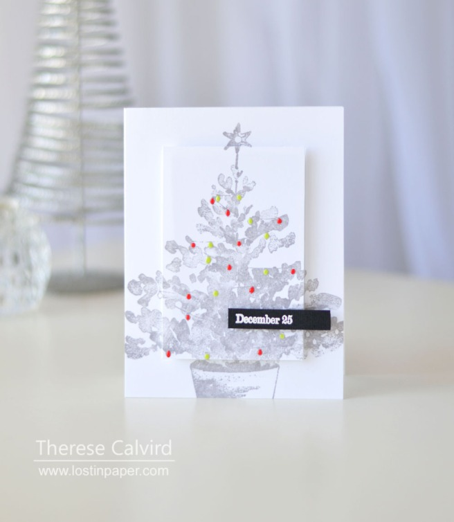 Lostinpaper - Penny Black - Christmas Glow - Holiday Snippets (card video) 1