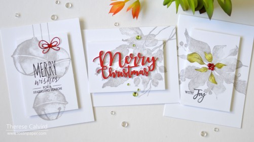 Lostinpaper - Penny Black Gimme 5 - CAS Christmas Highlight Cards (card video) (1) - Copy