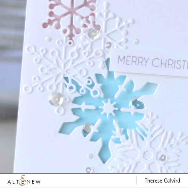 Altenew - Layered Snowflake Die - Starry Night - Therese Calvird (card) 1 copy