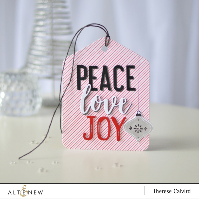 Altenew - Pocket Banner Die - Christmas Tag - Therese Calvird (card) 1 copy