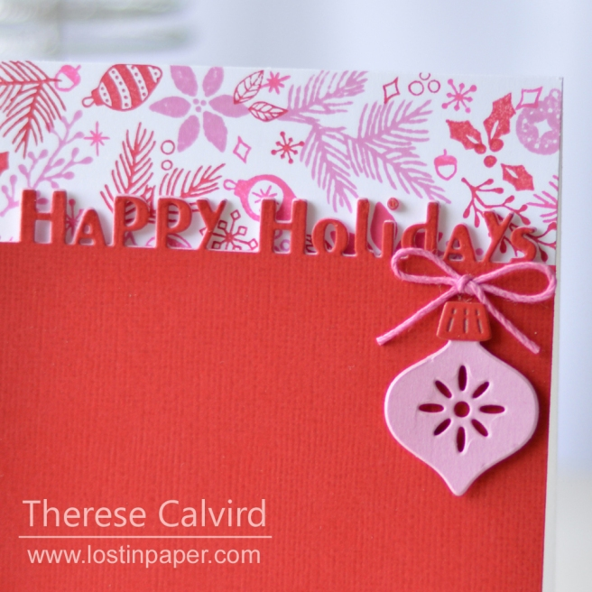 Lostinpaper - Concord & 9th - Deck The Halls - Holiday Cheer Tag - Penny Black - Holiday Edgers (card video) 1