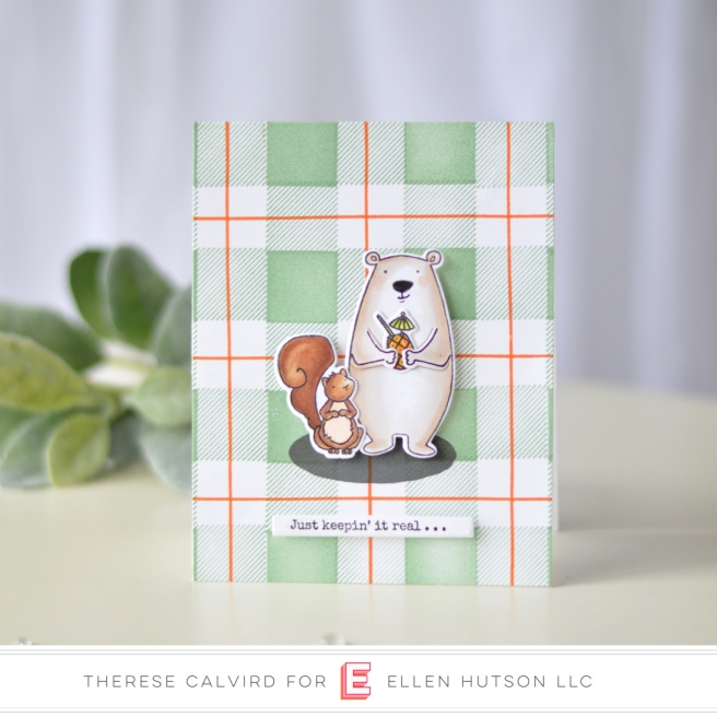 Lostinpaper - Ellen Hutson - All Inside - Plaid Maker (card video) 1 copy