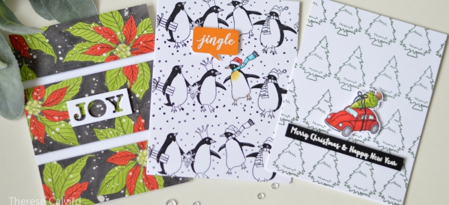 Lostinpaper - Penny Black Gimme 5 - Lining it Up for Christmas! (1)