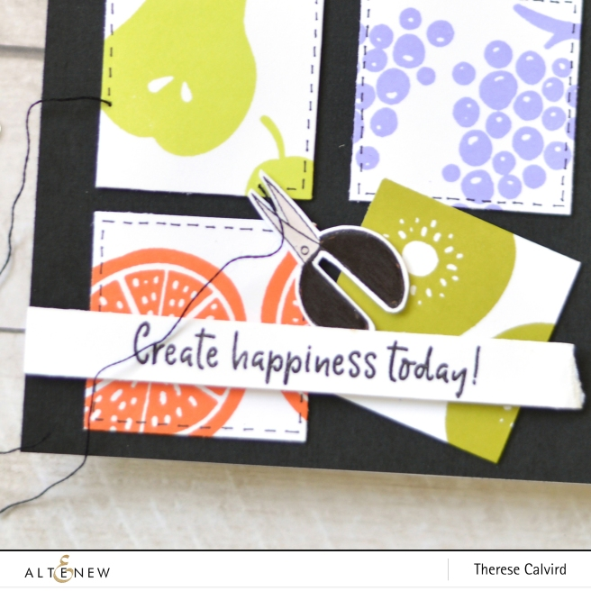 Altenew - Simple Fruits - Crafty Life - Therese Calvird (card video) 1 copy