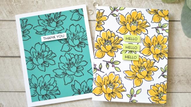 Altenew - Sunlit Flower Card Making Kit - Therese Calvird (card video) thumbnail