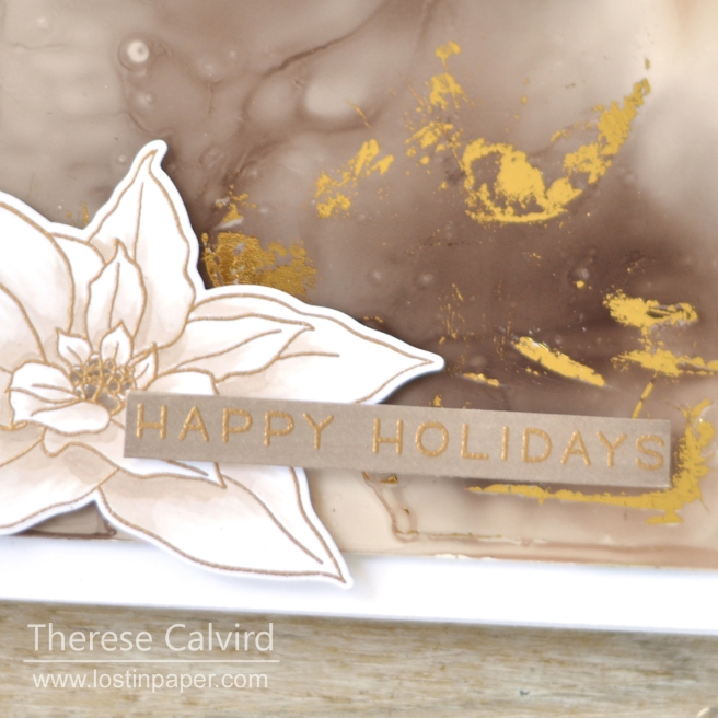 Lostinpaper - Altenew - Poinsettia - Lawn Fawn - Simply Winter Sentiments (card video) 1