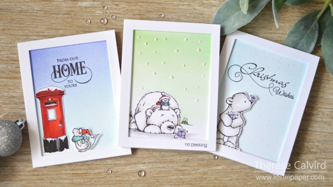 Lostinpaper - Penny Black Gimme 5 - Cute Christmas Critters 1