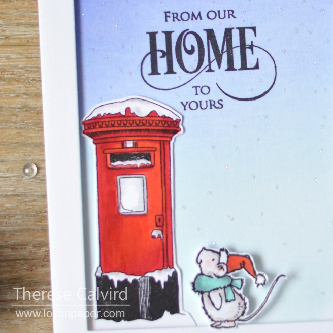 Lostinpaper - Penny Black - Joyful Wishes - Deck the Halls (card video) 1