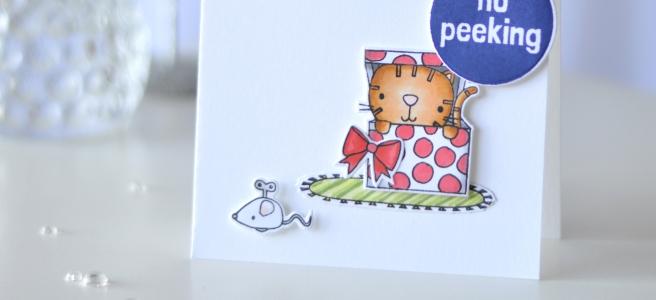 Lostinpaper - Reverse Confetti - Furever Friends - Christmas Circles (card video) 1