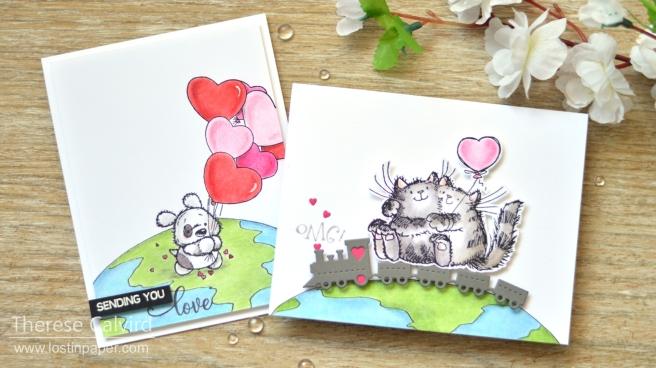 Gimme 5 - Critter Love Penny Black - Lostinpaper 1