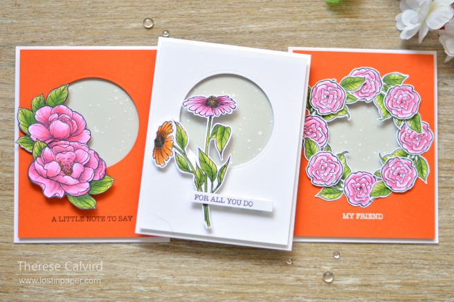 spellbinders - therese calvird - just add color gift cards (2