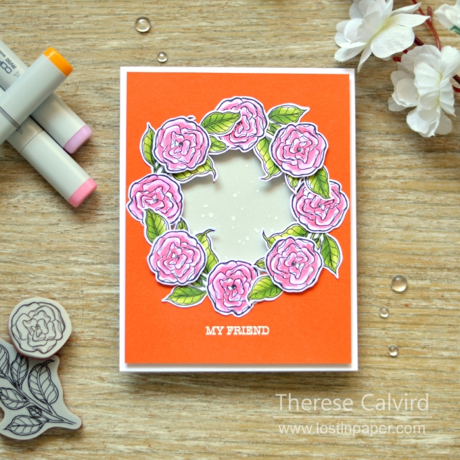 spellbinders - therese calvird - just add color gift cards 3