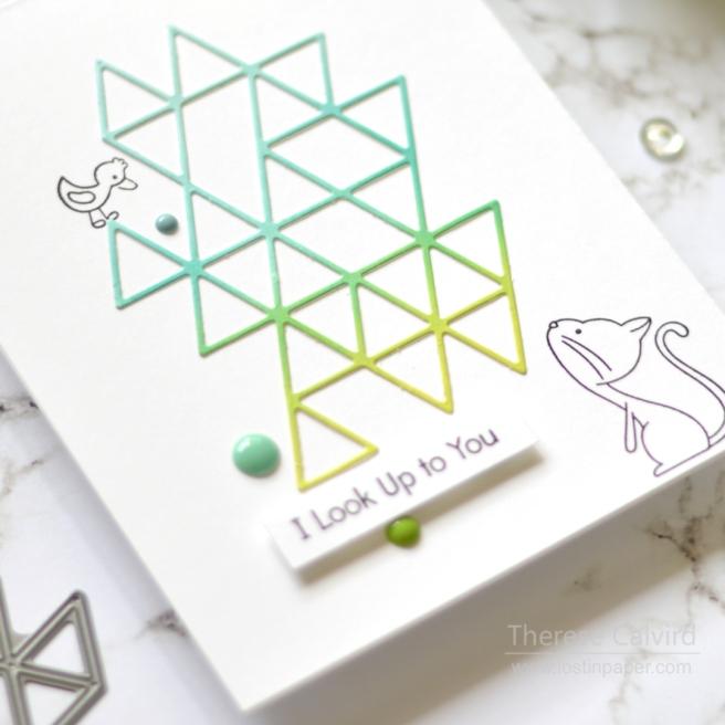 Lostinpaper - SSS - Triangle Element (card) 1