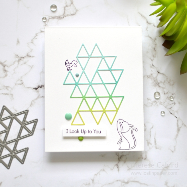 Lostinpaper - SSS - Triangle Element (card) 1