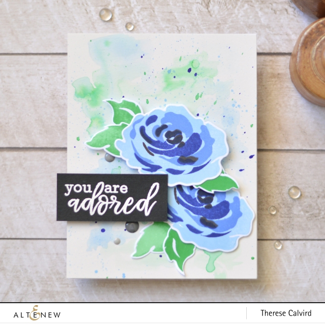 Altenew - Creativity Kit Sweet Story of Us - Take 2 with Therese (card video) 6 copy