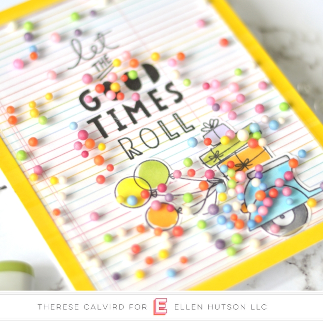 Lostinpaper - Ellen Hutson - Good Times (card) 1 copy