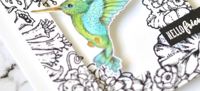 Lostinpaper - Power Poppy - Floribunda (card) 1
