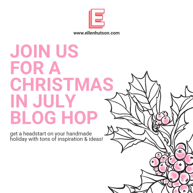 Fun Christmas In July Ideas.Ellen Hutson Christmas In July Giveaway Hop Video