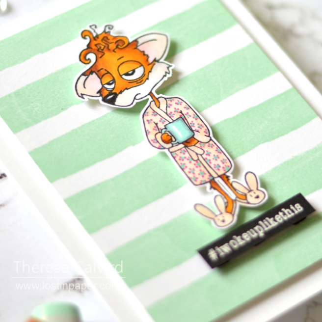 Lostinpaper - Creatively Unique - Fox - Copic Real Time Colouring (card video) (1)