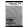 Silver Cardstock