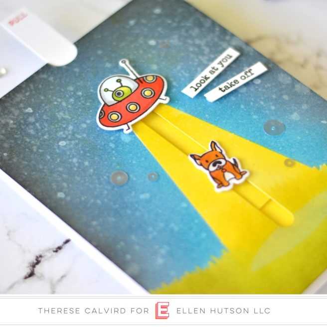Lostinpaper - Ellen Hutson - Space Out Pull Tab Card (card video) 1 copy