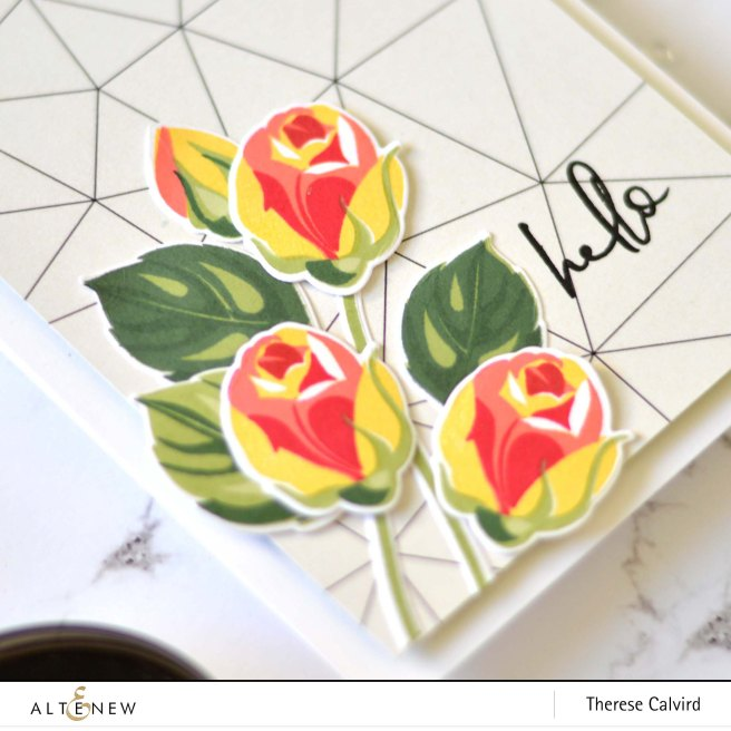 Altenew - Rosy Outlook - Hellebore - Therese Calvird (card) 1 copy