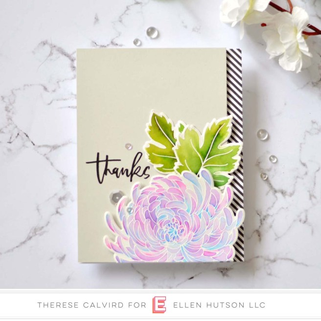 Lostinpaper - Ellen Hutson - Mondo Chrysanthemum - Totally Random Sayings Vol 3 (card video) 1 copy