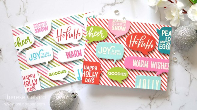 Same But Different Christmas Cards - Sentiments - Lostinpaper (card video) 2