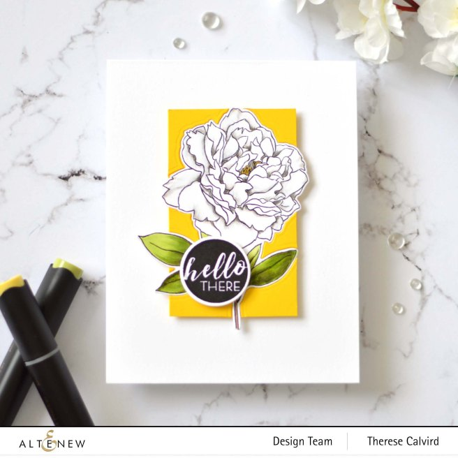 Altenew - Peony Spray - Circled Sentiments - Therese Calvird (card video) (1) copy