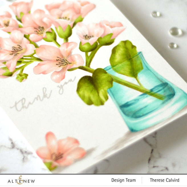 Altenew - Bergenia Builder - Apothecary Labels - Versatile Vases - Therese Calvird (card) 2 copy