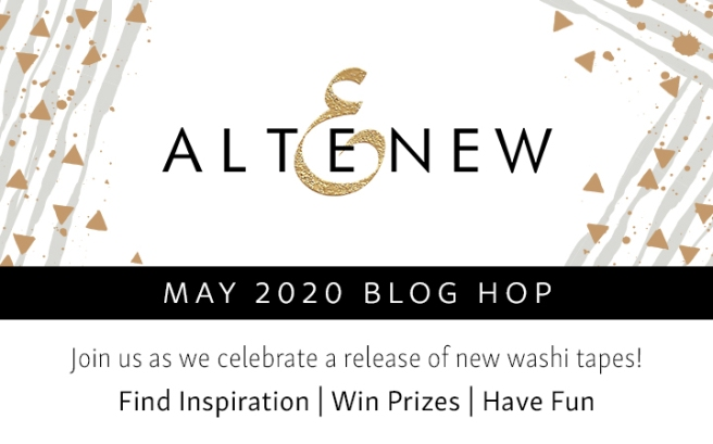 May 2020 Washi Tape Blog Hop