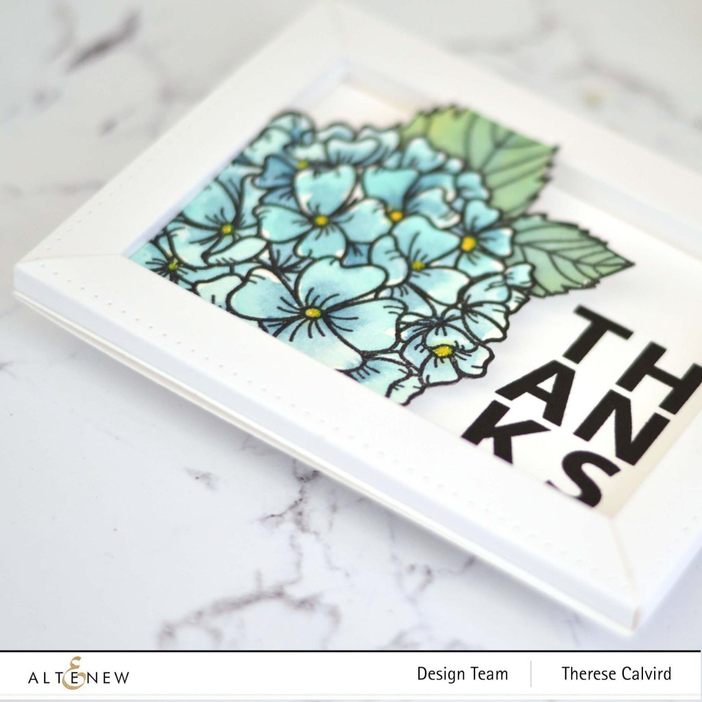 Therese Calvird - Altenew - Hello Hydrangea - Thin Frame 3D Die (card video) 1 copy.jpg