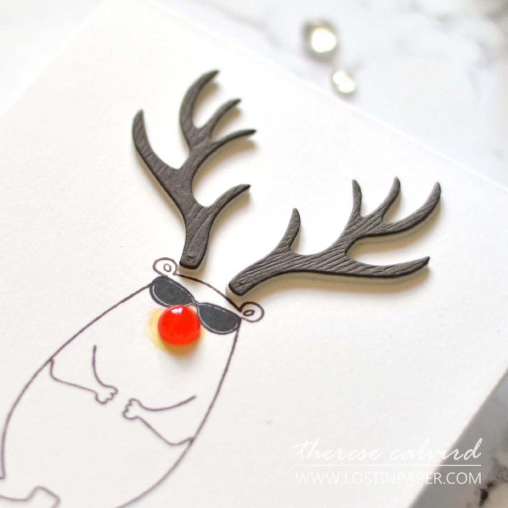 Lostinpaper - Ellen Hutson - Deer Antlers - Bear Ware 5 - All Inside - Bear Ware 3 - Mountain Holiday (card) 1