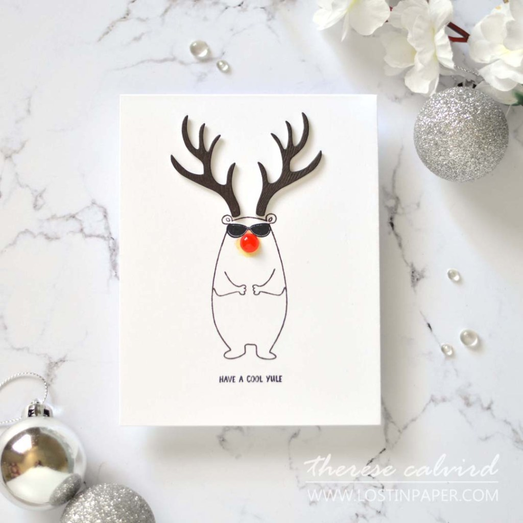 Lostinpaper - Ellen Hutson - Deer Antlers - Bear Ware 5 - All Inside - Bear Ware 3 - Mountain Holiday (card) 1