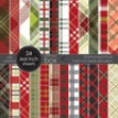 Christmas Plaid Paper Pack