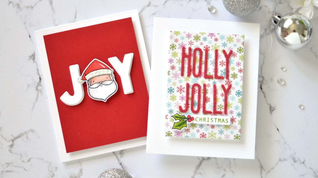 Lostinpaper - Same But Different Christmas 2020 - Die Cut Sentiments 1