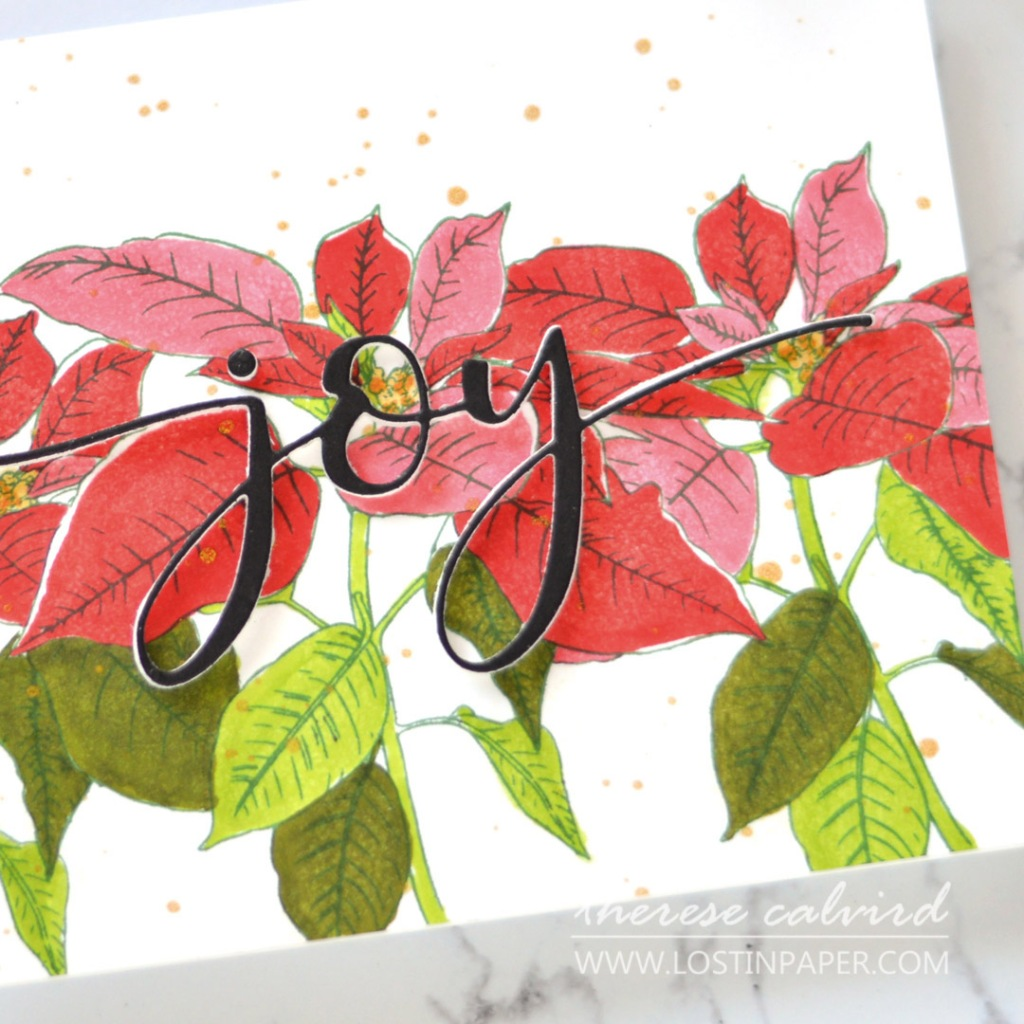 Lostinpaper - Same But Different Christmas Card Series 2020 - No 1 - Poinsettias (card video) (5).jpg